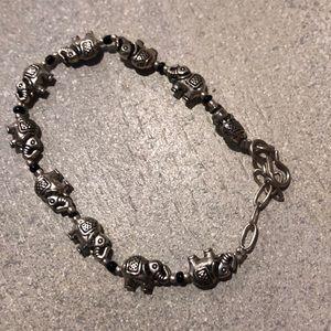 Jewelry - Handmade elephant bracelet/anklet